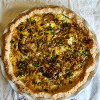 Quiche. It's What's for Dinner.
