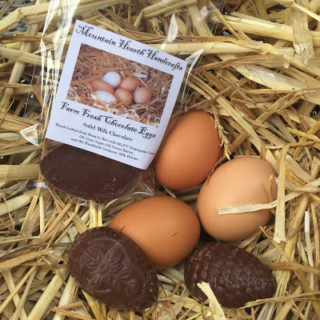 New Chocolate in Mountain Hearth Handcrafts Etsy Shop